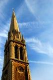 Steeple da igreja Fotos de Stock Royalty Free