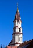 Steeple da igreja ortodoxa de Nicholas de Saint Foto de Stock