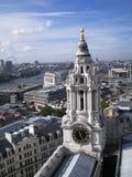 Steeple della cattedrale della st paul Fotografia Stock Libera da Diritti