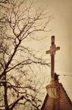 Steeple della chiesa Immagine Stock Libera da Diritti