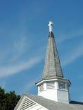 Steeple della chiesa Immagini Stock