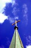 Steeple della chiesa Fotografia Stock Libera da Diritti
