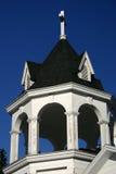 Steeple della chiesa del paese Immagine Stock Libera da Diritti