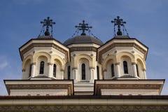 Steeple della chiesa ortodossa Fotografie Stock