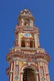 Steeple des Klosters Panormitis, Simi stockfotografie