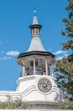 Steeple of the Dutch Reformed Mission Church in Beaufort West Royalty Free Stock Photography