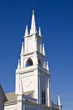 Steeple of an old church Royalty Free Stock Photography