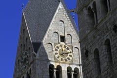 Steeple kościół St. Bartholomäus Obrazy Stock