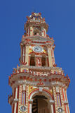 Steeple of the monastery Panormitis, Simi Stock Photography
