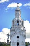 Steeple of Quito`s Cathedral Stock Photo