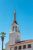 Steeple on Santa Barbara Church Royalty Free Stock Image