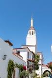 Steeple on Santa Barbara Mission Church Stock Image