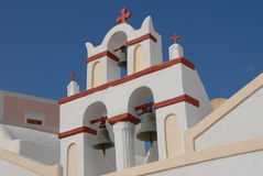 Steeple in Santorini Royalty Free Stock Photography