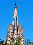 Steeple in Spain Royalty Free Stock Images