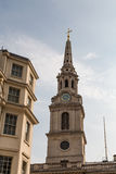 Steeple on St Martin in the Fields Royalty Free Stock Photography