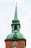 Steeple of St. Nicholas Church in Kappeln Stock Photography