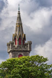 Steeple Stary świętego Fergus kościół w Wick, Szkocja Obrazy Royalty Free