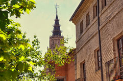 Steeple in Toledo Royalty Free Stock Photos