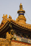 Steeple Yonghe Gong Buddhist Temple Beijing Stock Image
