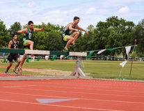 Steeplechase Royalty Free Stock Photography