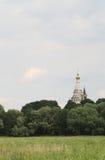 Steepled kyrka royaltyfri foto