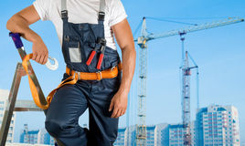 Steeplejack Royalty Free Stock Photo