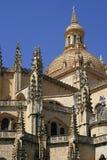 steeples собора стоковая фотография rf