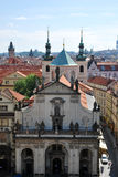 The steeples of Prague Royalty Free Stock Image