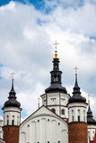 Steeples of Suprasl Lavra Royalty Free Stock Images