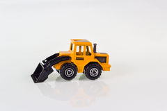 Steer Loader toy Stock Photo
