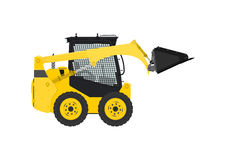 Steer loader. Royalty Free Stock Photography