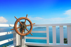 Steering. Beautiful landscape,find your direction Royalty Free Stock Photography