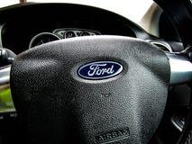 Steering. Ford. My steering wheel Royalty Free Stock Photo