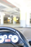 Steering weel Royalty Free Stock Photo