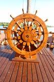 Steering Wheel. Captain's Steering Wheel (Around The World & Adventure Concept Stock Image