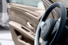 Steering-wheel Royalty Free Stock Photography