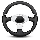 Steering wheel. Illustratio Royalty Free Stock Photos