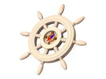Steering wheel. Royalty Free Stock Image