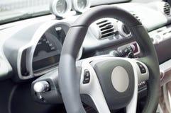 Steering wheel. The photo of steering wheel Stock Photos