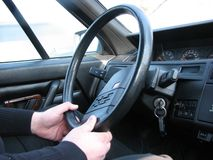 Steering-wheel 3 Royalty Free Stock Photos