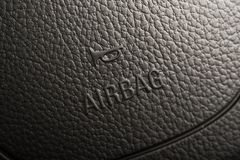 Steering Wheel Airbag Stock Image