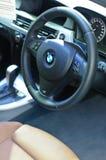 Steering wheel of BMW Royalty Free Stock Photo
