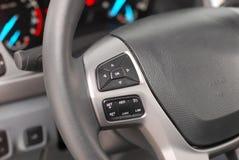Steering wheel button royalty free stock photo