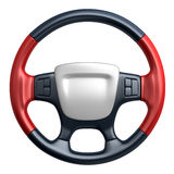 Steering wheel. Car (done in 3d Royalty Free Stock Images