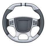 Steering wheel car Stock Photos