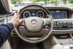 Steering Wheel, Car, Drive, Driving Royalty Free Stock Photo