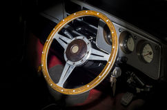 Steering wheel car Royalty Free Stock Photo