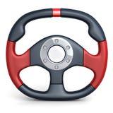 Steering wheel car Royalty Free Stock Images