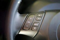 Steering wheel controls Stock Photos