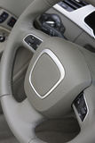 Steering wheel controls Stock Image